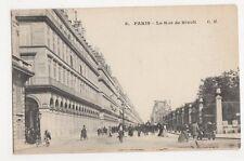 France, Paris, La Rue de Rivoli Postcard #2, B246