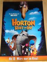 Horton hört ein Hu Kinoplakat Poster  A0, 84x119cm