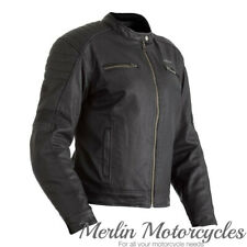 RST Brixton CE Wax Textile Motorcycle Motorbike Jacket - Black
