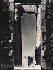 1921/63 Vintage 16x20 PARTHENON TEMPLE Entrance Architecture Art EDWARD STEICHEN
