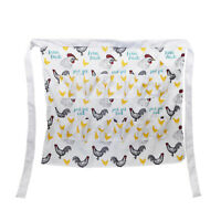 Rural365 | Egg Apron Gathering Egg Apron with Pockets for 12 Eggs