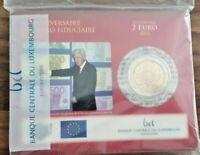 Coincard mit 2 Euro Gedenkmünze Luxemburg 2012 - BU -  Euro Bargeld