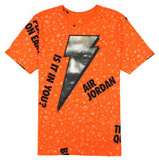 7bb72434edac JORDAN Retro 1 Be Like Mike Gatorade T-Shirt 3XL XXX-Large Orange Black