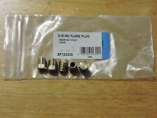 "Steel Fitting - 3/16"" OD brake line inverted flare plug 5/pkg"