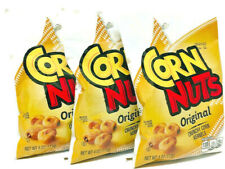 Corn Nuts - The Original Crunchy Toasted Corn Kernels - 3-Bag Snack Pack