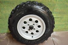 2000 SUZUKI 500 QUADMASTER VINSON FRONT WHEEL AND RIM 55310-09F10-12Z