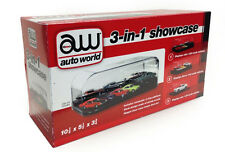 COLLECTABLE DISPLAY SHOW CASE FOR 1/64 1/43 1/24 MODEL BY AUTOWORLD AWDC004