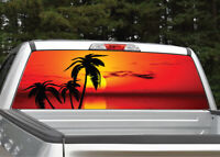 Bridge Over Lake Water Rear Window Decal Graphic Sticker Car Truck SUV Van 641