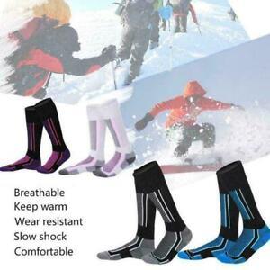Waterproof Long Warm Breathable Ski Socks Thicken Winter Sports Men Women UK