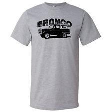 Ford Bronco Custom Retro Screen Printed T Shirt