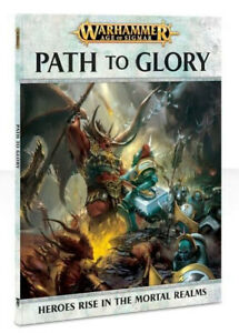 Warhammer Age of Sigmar Path to Glory Book (Soft cover) New