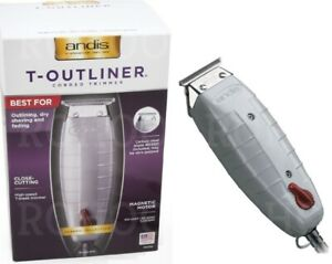 ANDIS T-OUTLINER TRIMMER *UK* 05100 (G-I) UK VOLTAGE ! NO TRANSFORMER REQUIRED