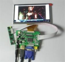 Remote Control Lcd Display HDMI+VGA+2AV+REAR+LER BOARD+6.5INCH 800*480 AT065T ua