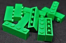 LEGO 1x4 Bricks Green---Lot of 10 4112838