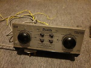 Hornby H & M Duette Twin Power Controller  Working