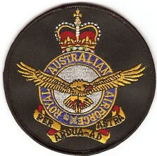RAAF BADGE PATCH EMBRIODERED LARGE SIZE - ROYAL AUSTRALIAN AIR FORCE