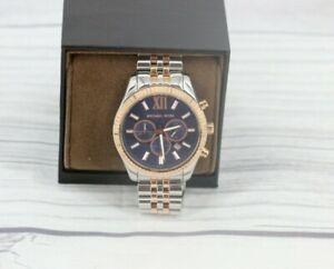 Michael Kors Mens Lexington Two Tone Watch MK8412