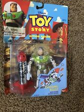 Disney Toy Story  (1995) Buzz Lightyear Flying Rocket Figure, Think Way Toys