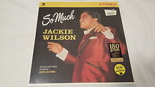 JACKIE WILSON - So Much NEW/SEALED 180gr + MP3 DOWNLOAD 1959 Soul R&B (LP)