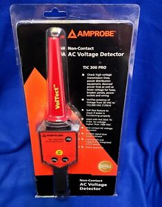 Amprobe TIC 300 PRO Non-Contact Low/High Voltage Detector With CASE