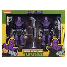 TMNT Teenage Mutant Ninja Turtles - NECA - Foot Soldiers - MISB