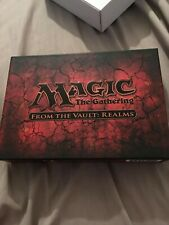 From The Vault Realms brand new set unopened mtg magic the gathering
