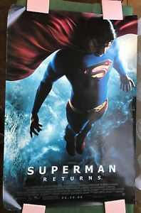 SUPERMAN RETURNS 2006 DC Comics Original Movie Poster Brandon Routh 27x41