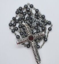 Cruel Intentions Necklace/Rosary Sterling Silver Choice of Gemstone