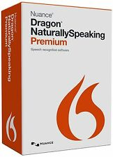 3x Nuance Dragon Naturally Speaking Premium 13 Genuine Full Version Anglaise