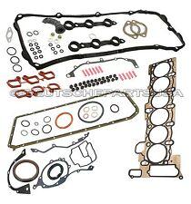 ENGINE CYLINDER HEAD + LOWER CRANKCASE GASKET SET for BMW E46 X5 11127507597 SET