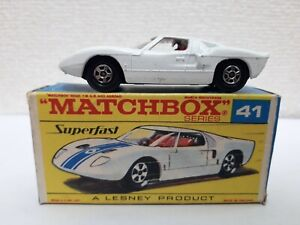 (Rare!) Matchbox - #41 Ford GT