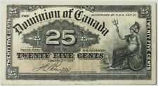 Dominion of CANADA - 25 Cents - January 2nd, 1900 - Pick 9b - Crisp Very Fine