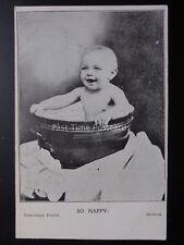 Suffolk IPSWICH - SO HAPPY Baby in Bath ADVERT THE TIBBENHAM STUDIO, 43 CARR ST