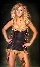 Christina Aguilera 8x10 Picture Tiny Black Dress Photo