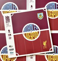 Rare Sold Out Burnley V Liverpool 2019/20 Premler League Programme Last One.