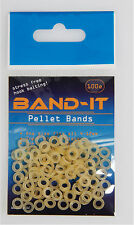 Band-it Standard bait bands 100 per packet -For Pellets 4-12mm super stretch