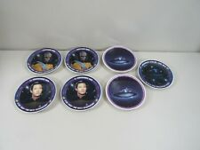 7 Uss Enterprise Lieutenant Worf Commander Data Star Trek Generation Mini Plates