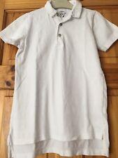 Boys Next White Polo Shirt Age 9 Years