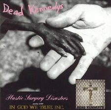Plastic Surgery Disasters by Dead Kennedys (CD, Jun-1998, Manifesto Records)