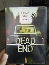 SIGNED Dead End DVD Lin Shaye