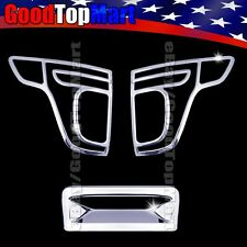 For Ford EXPLORER 2011 2012 2013 2014 2015 Chrome Covers Set Tail Light+Tailgate