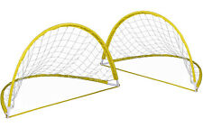 Cage de Football  Pop UP  Transportable et Pliable   2 Cages  Foot But + piquets