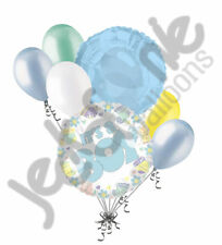 7 pc Its a Boy Blue Balloon Bouquet Welcome Home Baby Shower It's a Boy New Type