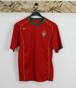 Maillot Football Vintage Nike Portugal Taille Manquant (Cod.T28) Utilisé Rouge