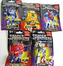 Lot of 5 Transformers G1 Ltd. Ed. Mini Figures Bumblebee Soundwave Optimus Prime