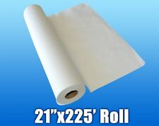 """12 Rolls 21"""" X 225' Smooth Crepe White Massage Exam Table Disposable Paper"""