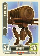 Retail Droid #093 - Force Attax Serie 2