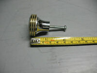 ART  DECO   VINTAGE  CHROME & GOLD  PULL SOLID  BRASS