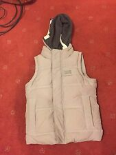 Superdry Academy Vest gilet detachable hood gillet Small