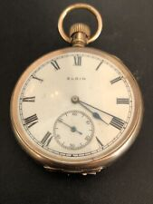 Vintage Gold-filled Elgin National Watch Co. Pocket Watch 1921  Project